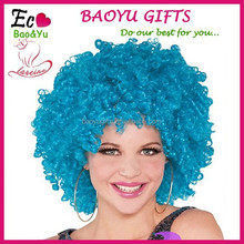 Fashionable BOB style Short cosplay lady festival costume party wigs synthetic halloween wigs.