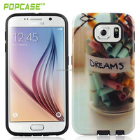 Snap on case for samsung s6 phone cover