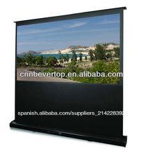 El aumento de piso de pantalla, planta eléctrica de pantalla de proyección