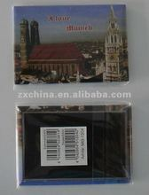 Hot promotional tinplate portugal souvenir fridge magnet