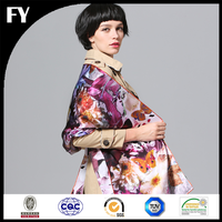Wholesale China digital printed silk electric heating shawl