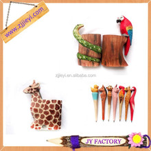 Promtional gifts fancy stationery products eco stationery wooden ball pen