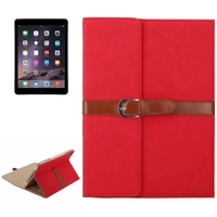 Trade Assurance Accepted Business Style 3 Folio PU Case for iPad Air 2 for Wholesale