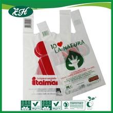 cornstarch made certified compostable plastic bag