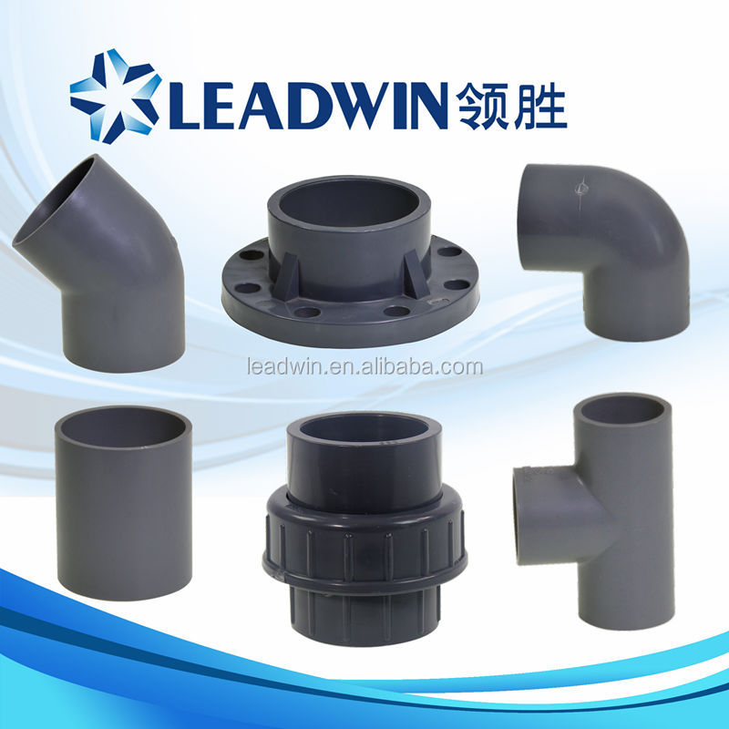 Types of plumbing materials plastic pvc pipe fittings for Buy plastic pipe