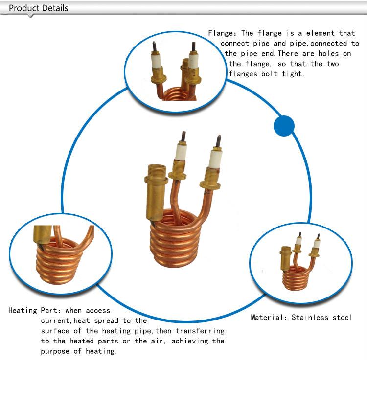 Hot Water Heater Nichrome Wire Hair Straightening Ceramic Heater ...