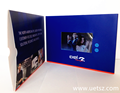 Vídeo reproductor de libros ad, lcd video folleto