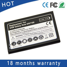 3.7V Low Price Mobile Phone Battery For Samsung Galaxy NOTE 2 II N7100