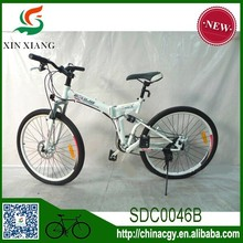 21 speed MTB bike , folding mountain bike with high quality shocking proof