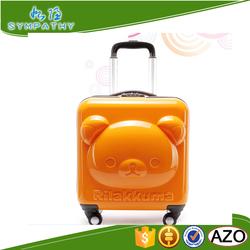 Hard Case kids luggage with wheels custom suitcase