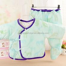new design vintage style baby winter underwear