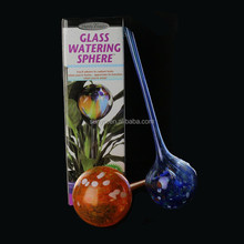 Hand Blown Glass Watering Balls for Plants