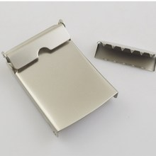 Excellent quality new design iron plated custom round belt buckle