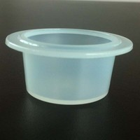 31mm plastic disposable cup for tomato paste fresh packaging