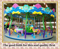 factory direct rides Interesting outdoor luxury ocean carousel rides for sale