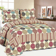AY-320 Hot sale colorful india print decorative bedspreads