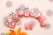 SOFT FLOWER DECORATION ABS MATERIAL WHOLESALE NAIL SUPPLIES FOR FINGERNAILS