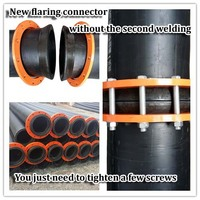 large diameter pipe HDPE pipe for Sand Slurry Discharge