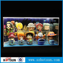 Acrylic Small toy display case retail shop