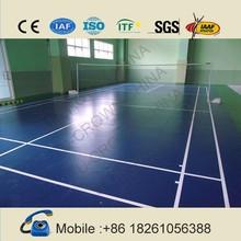 Super quality: badminton court flooring at manufacturer price