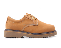 crazy horse leather EVA outsole goodyear welt safety boots/NUBUCK leather shoes