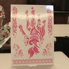 henna tattoo sticker,luminous art sticker jewelry