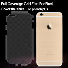 Clear carbon fiber film for iphone 6 film back side screen protector