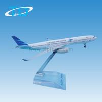 A330-200 (16cm) scale 1:400 Garuda Indonesia airbus model airplane toy