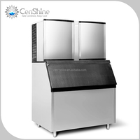 Most Durable Fully Automatic Everest Ice Machine With Nickel Evaporator To Ensure Clear Cube