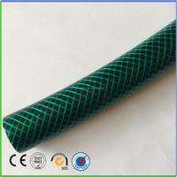 "Green & black pvc anti-UV garden water hose pipe 1/2"" 3/4"""