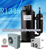 Mini dehumidifier with compact design and quiet performance R410A rotary compressor for Desiccant air dryer moisture absorber