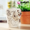 American Eskimo Dog Handcrafted Ceramic Coffee Mug