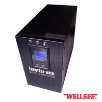 Pure sine wave power inverter WS-SCI 1000W control inverter 12V 220V Inverter with battery charger