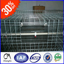 2015 A Type New Design Multi-tier Galvanized Metal Chicken Battery Poultry Cages