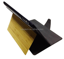 2014 new trendy plastic pc tpu case for ipad 2345 with wooden