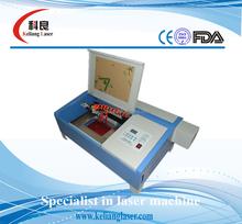 mobile phone screen protector Mini laser engraving stamp machine kl-320