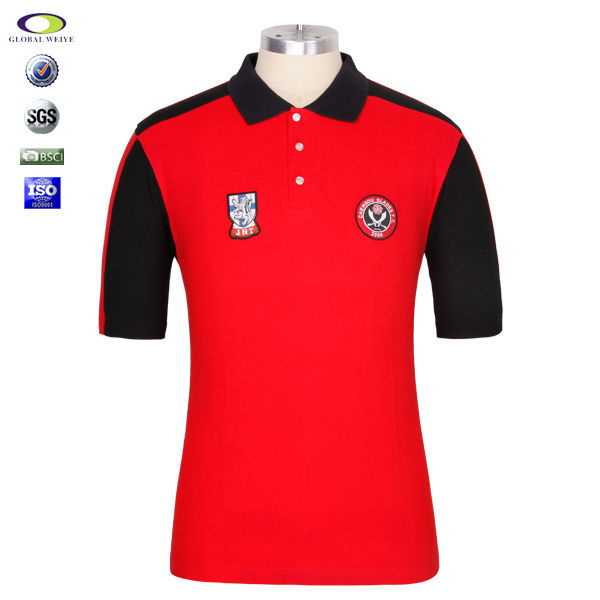 Cheap embroidery custom mens polo shirt design buy polo for Cheap custom embroidered polo shirts