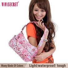 china factory direct supply bright color portable nylon shoulder bag