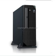 mini micro atx slim computer pc case with black mesh/mini desktop case/mini atx computer case