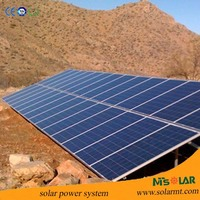 High efficiency solar panel module 250 watt for on grid solar system