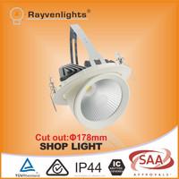 SAA/CE 30w Citizen Epistar window shop led downlight