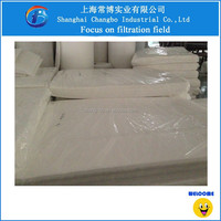 Polyester blue and white air filter media/pre filter media roll China