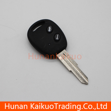 Good quality auto remote straight key with 2 button master key for Chevrolet Lova car, 433 MHz, Original