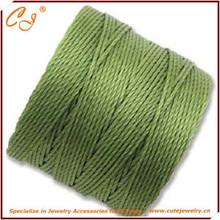 Вязание крючком кос superlon плетеный ожерелье шнуры оптовая продажа