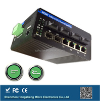 Industrial managed 8 port controlled network switch