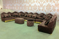danxueya 2015 new design Majilis arabic sofa /arabic floor seating furniture / lous XVI style furniture