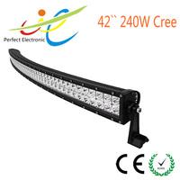 41.5inch 240W Cree curved LED light bar
