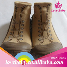 Lovely baby latest design rubber shoes for baby