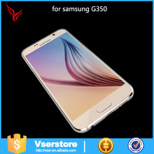 Soft transparent TPU phone case for Samsung Galaxy Core Plus G350 Blank Cell Phone Case