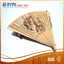 chinese business gift wood fan